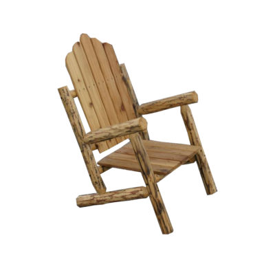 Beetle Kill Pine High Back Armchair Oiled