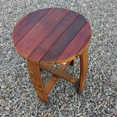 Barrel Small Round Table Side 18x18x22