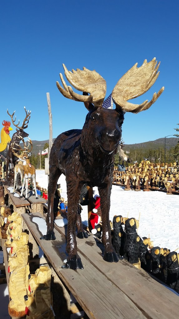 Moose Large Natural Paint Breck Bears